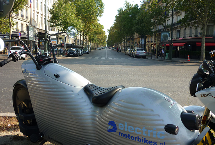 Electric Night Ride 3 - Paris - Electric Motorcycles News