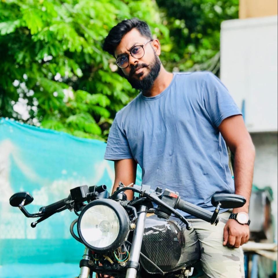 Transportation designer Ajay Prabith Prakash at Electric Motorcycles News