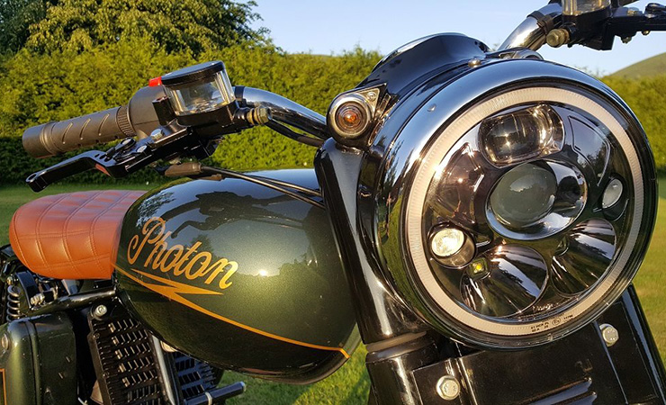 Photon electric classic motorcycle | electric motorcycles news