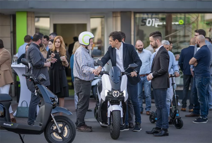 Silence Flagsip stote Luxembourg | Electric Motorcycles News