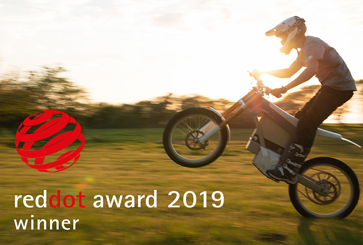 Cake Red Dot Award 2019 | Electric Motorcycles News