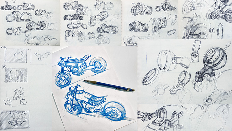 Designer for hire | Alexey Afanasyev | Electric Motorcycles News