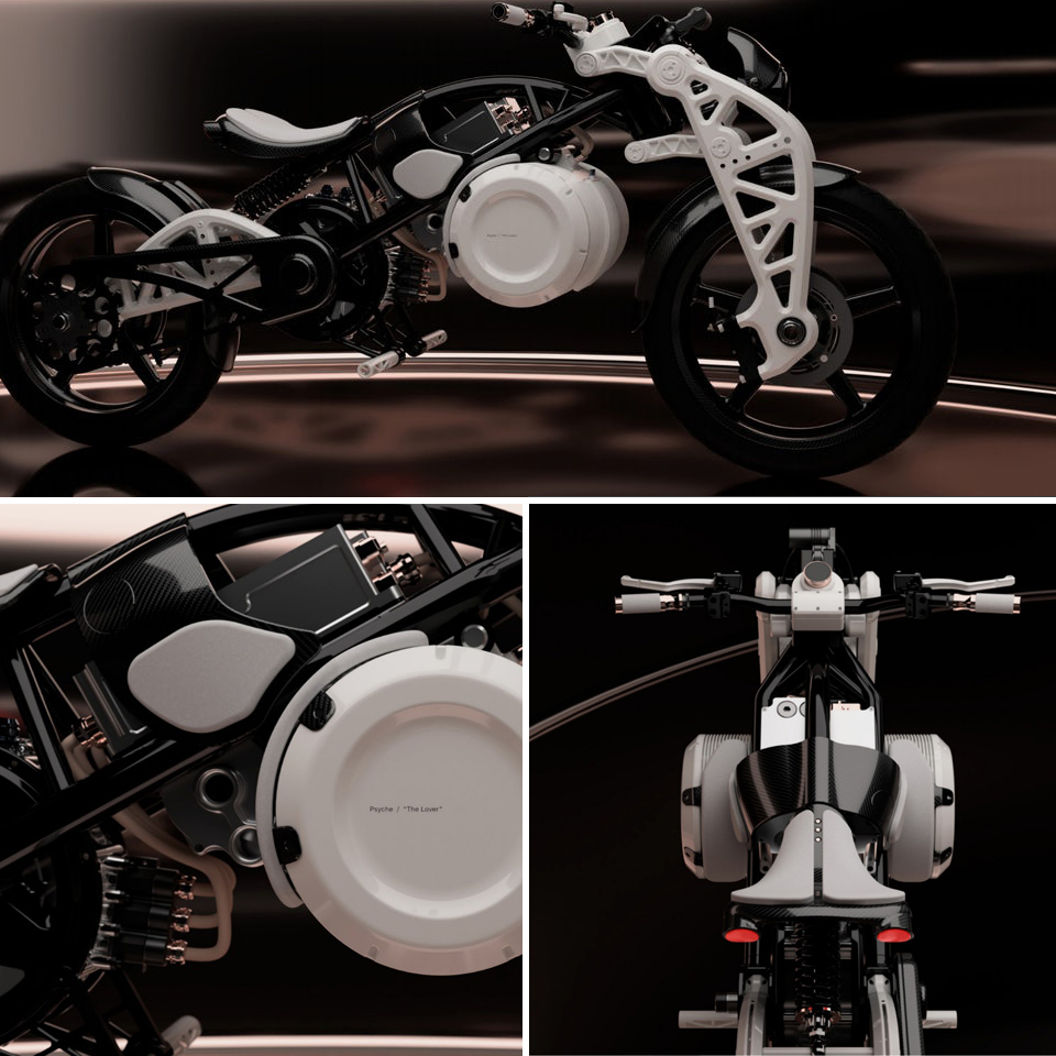 Psyche |The Lover |Curtiss Motorcycle Company | Electric Motorcycles News