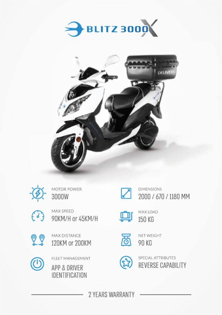 BLITZ 3000X |Electric Motorcycles News