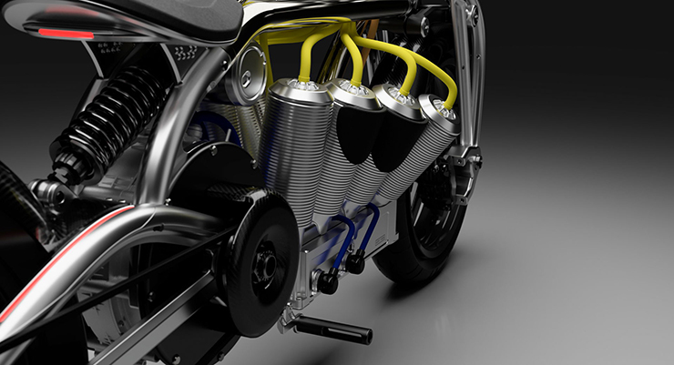 Zeus Radial V8 |Electric Motorcycles News