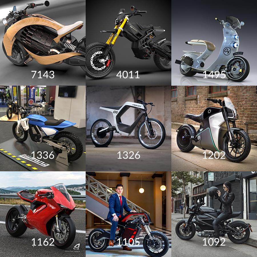 Instagram Top 9 Electric Motorcycles News