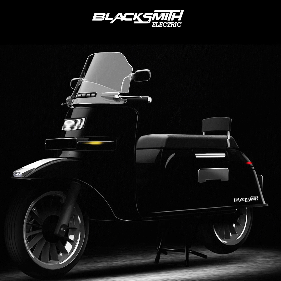 Blacksmith electric model B3 | Electric Motorcycles News
