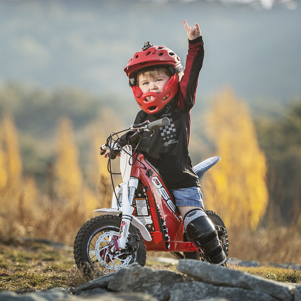 Oset Motortrial kids  Electric Motorcycles News