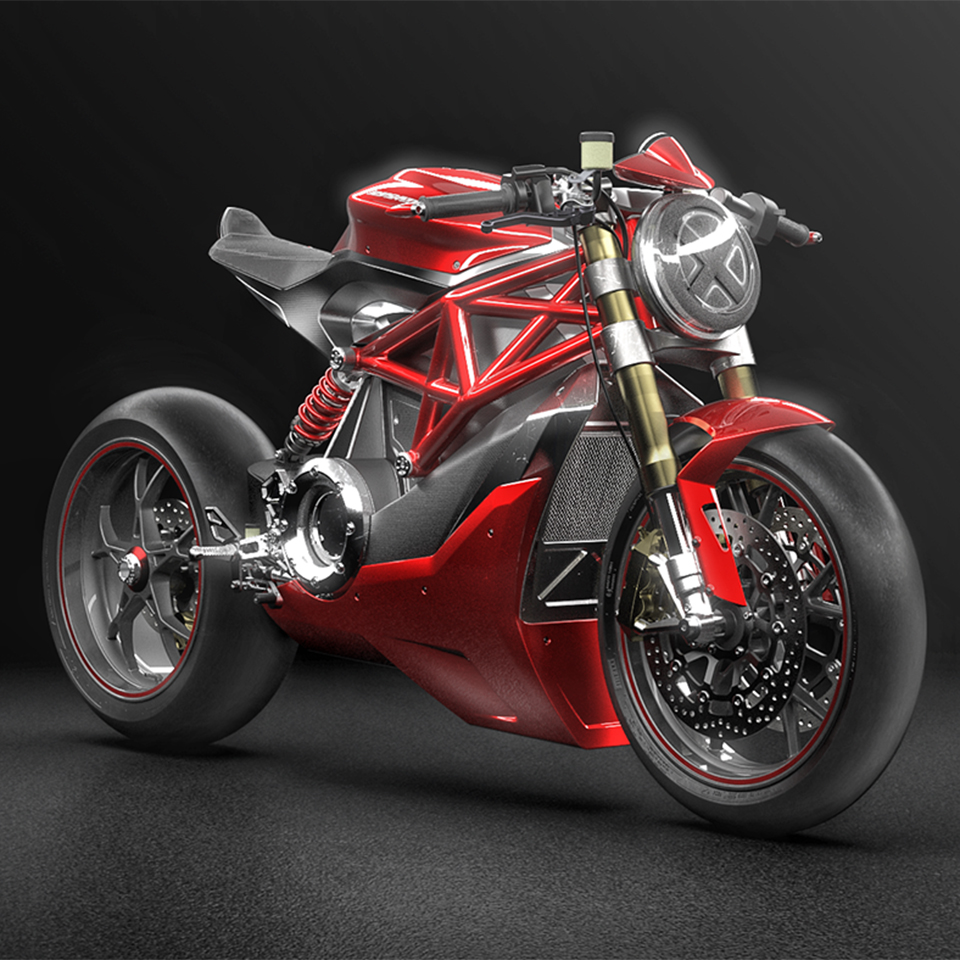 Allessandro Lupo |Ducati Monster Electric Concept