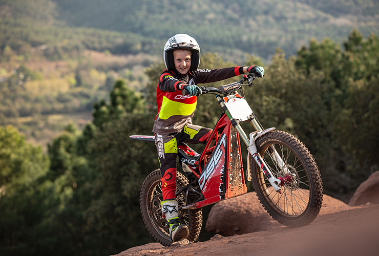 Oset Motortrial kids | Electric Motorcycles News