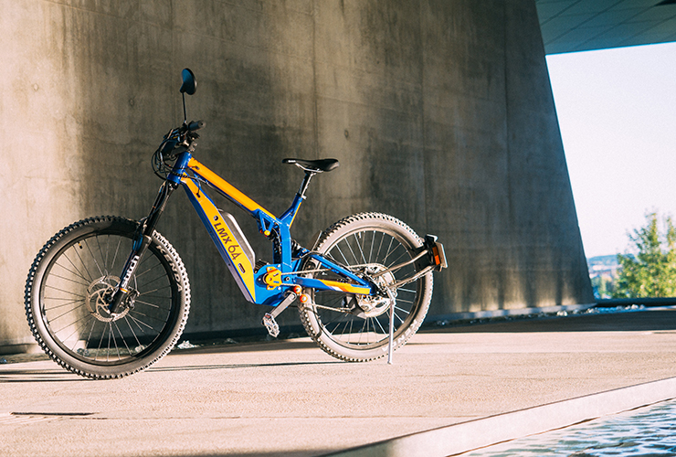 New offroad performance e-bike LMX 64H from France