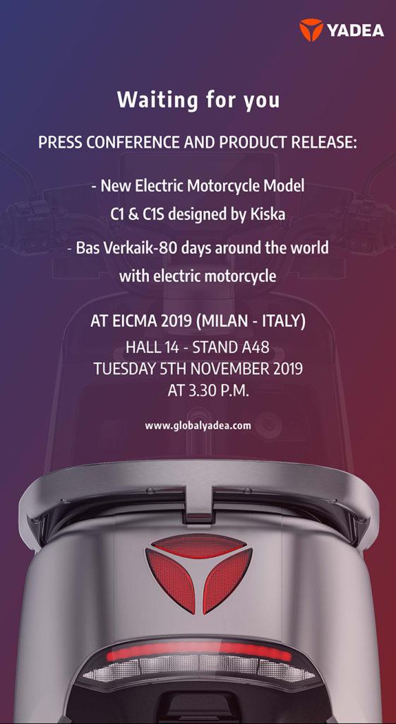 Yadea Eicma 2019 |Electric Motorcycles News