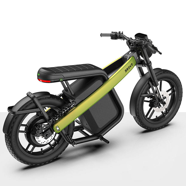 Brekr urban electric moped | Electric Motorcycles News