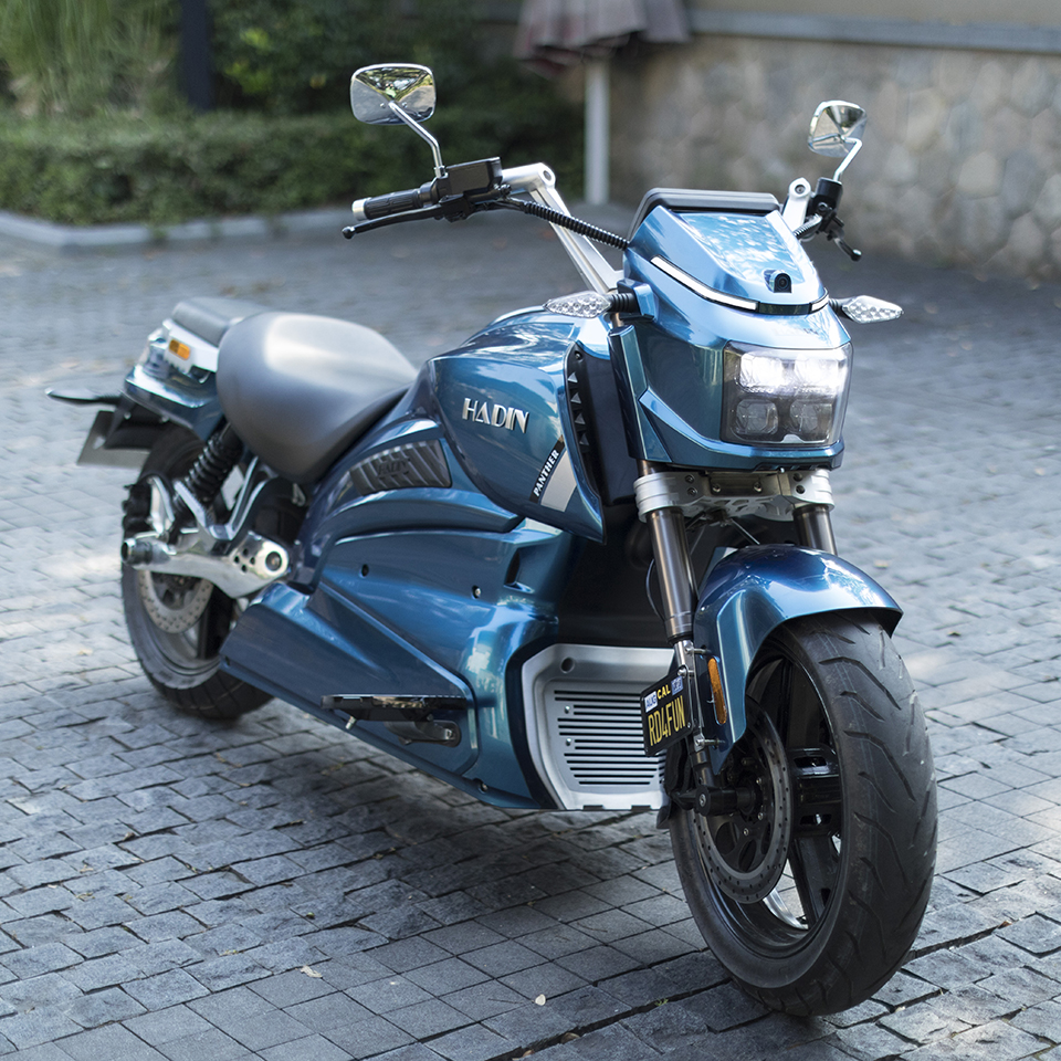 Panther E-cruiser from Hadin Motorcycle |Electric Motorcycles News