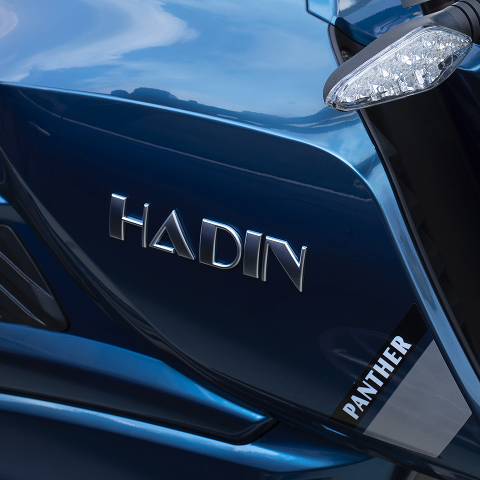Hadin unveils new electric cruiser Panther at EICMA 2019 | Electric Motorcycles News