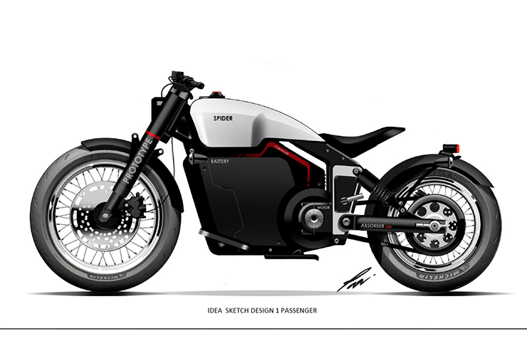 We are looking for investors for this Spider electric motorcycle project
