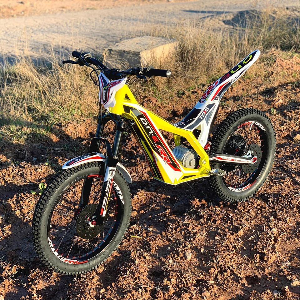 TRS Motorcycles - Kids electric Motortrial  Electric Motorcycles News