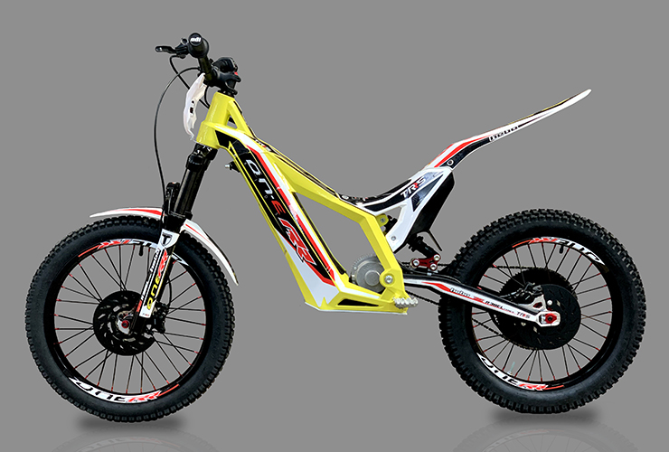TRS Motorcycles - Kids electric Motortrial | Electric Motorcycles News