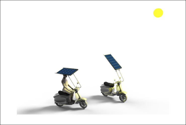 Capota solar Motosola | Noticias de Motos Eléctricas