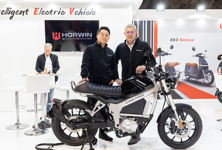 Horwin Europe | Eicma 2019 | Electric Motorcycles News
