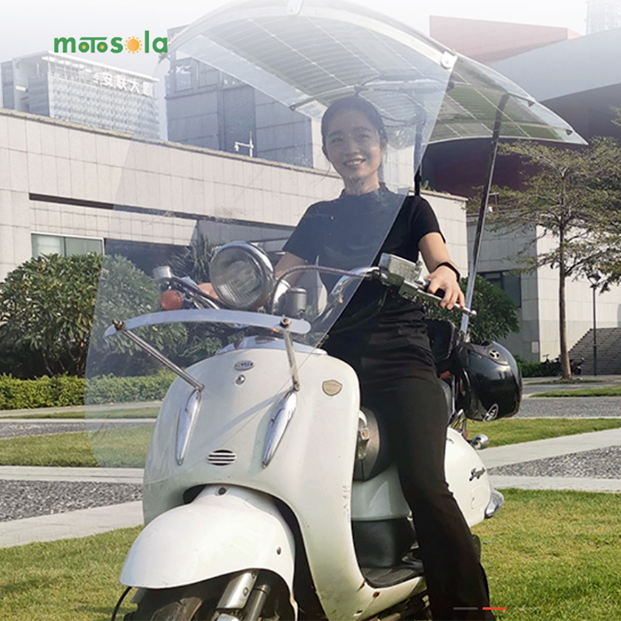 Motosola solar canopy |Electric Motorcycles News
