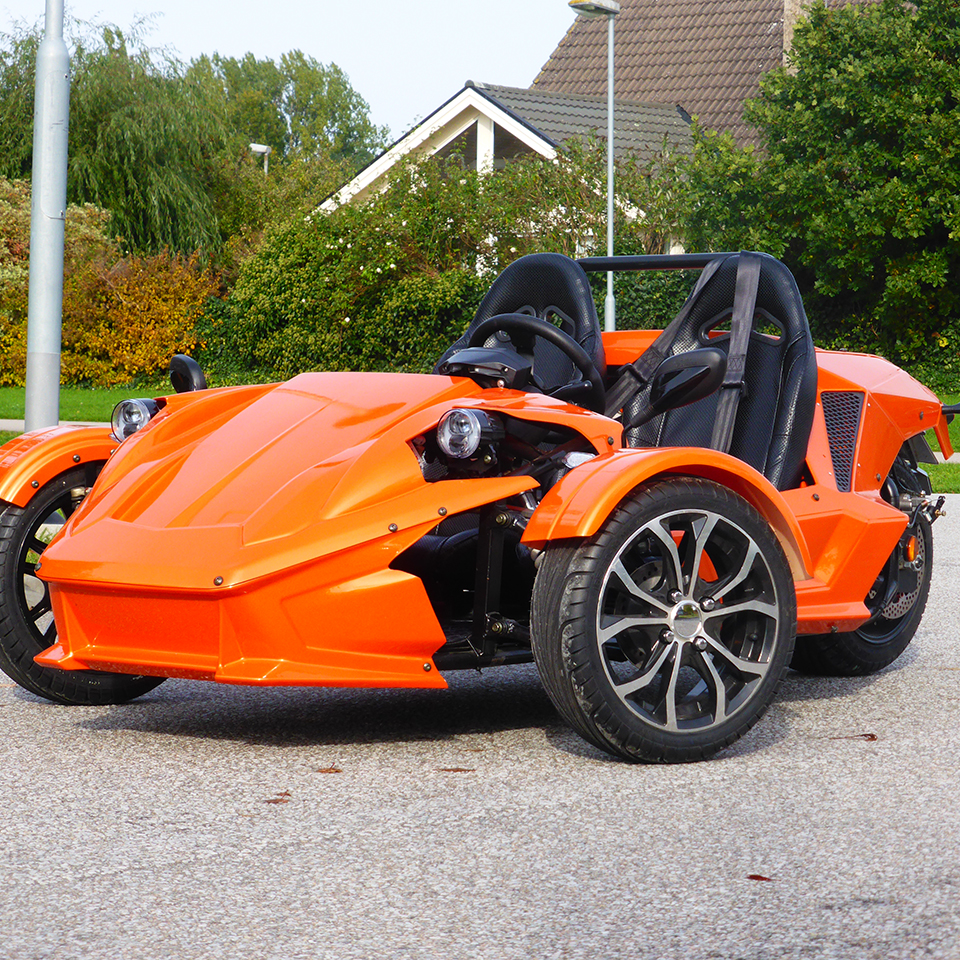 OMotion ETR electric trike   Electric Motorcycles News