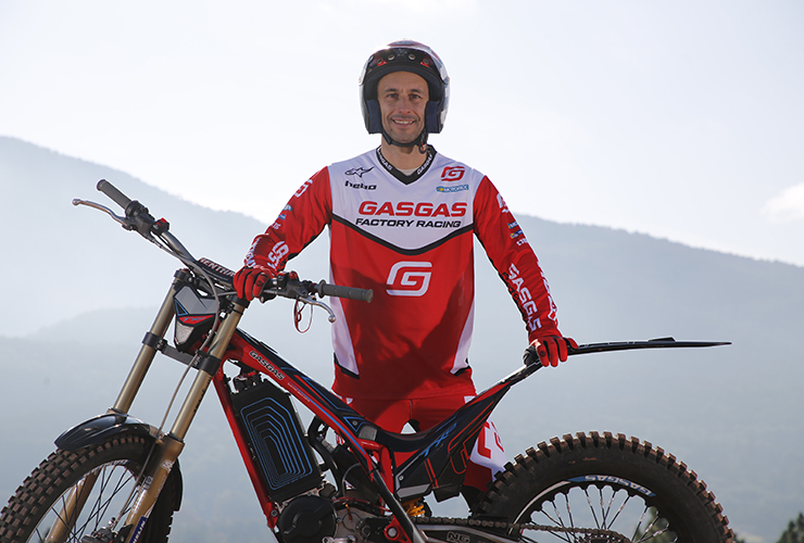 GasGas Factory Racing sign Albert Cabestany for Trial-E World Championship | Electric Motorcycles News