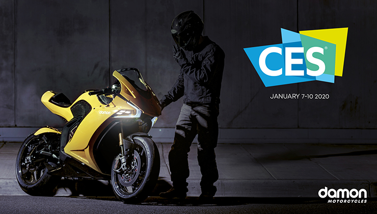 Motorcycle Events September 2020.Damon Motorcycles Announces Electric Motorcycle Hypersport