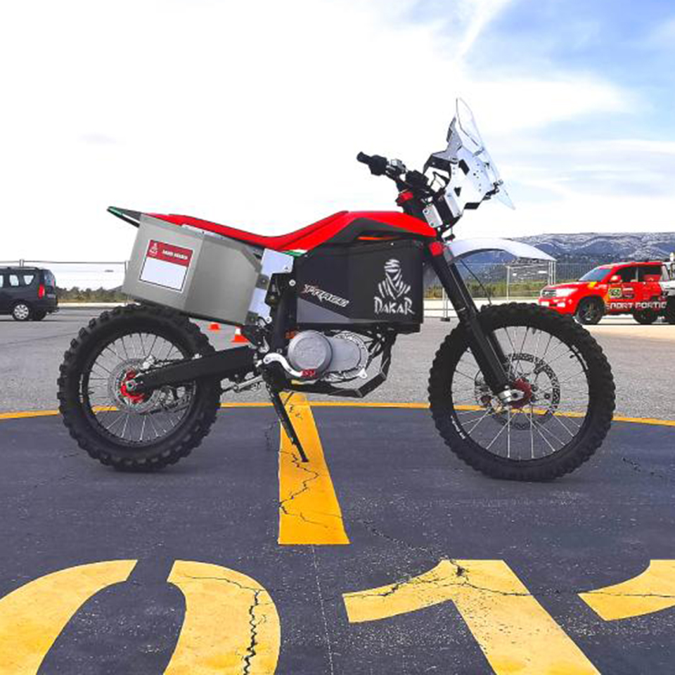 Tacita Rally Dakar 2020 | Electric Motorcycles News