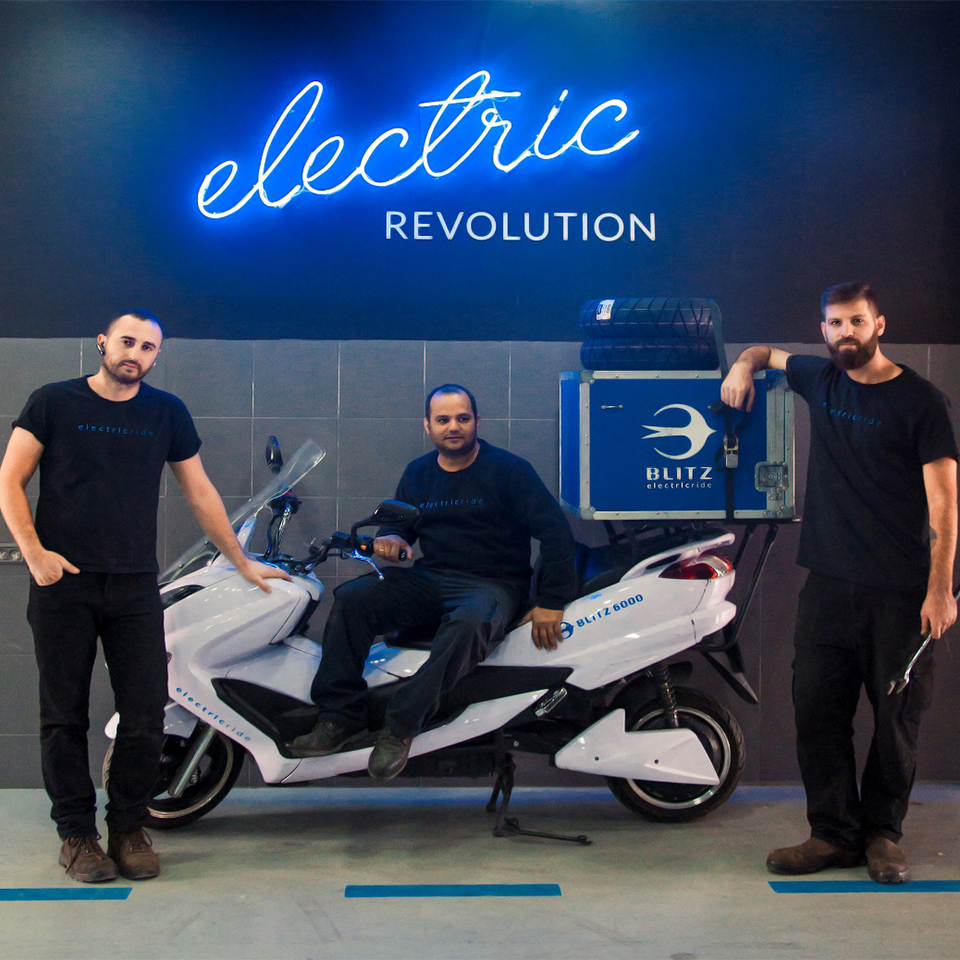BLITZ hiring technicians | Electric Motorcycles News