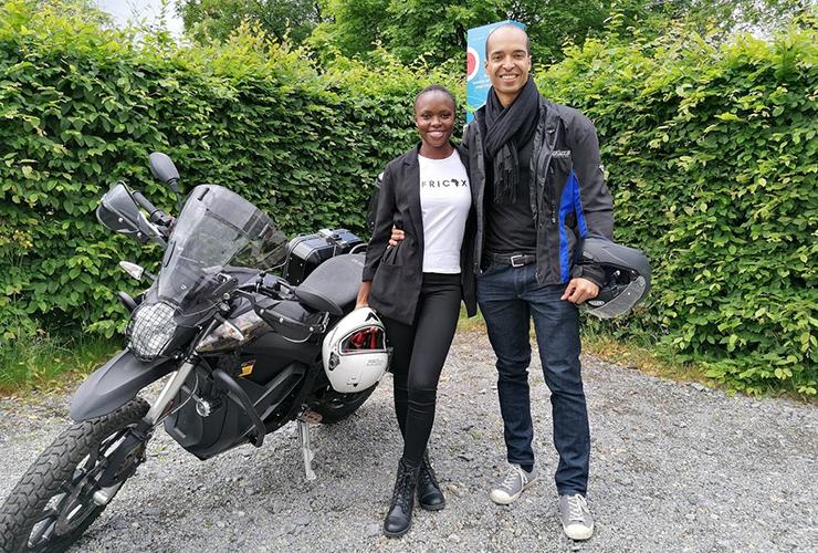 Zero Motorcycles Benelux | Africa ï Zero Black Forest | Electric Motorcycles News