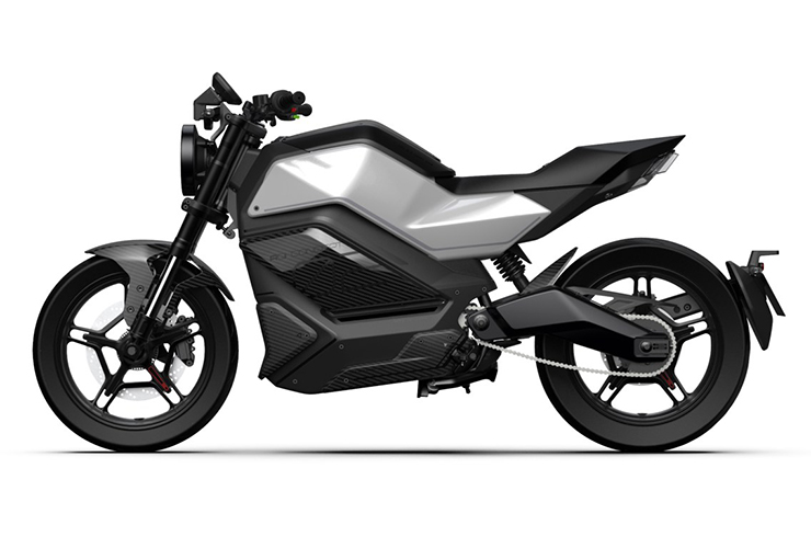 NIU electric motorcycle RQi | CES 2020 | Electric Motorcycles News