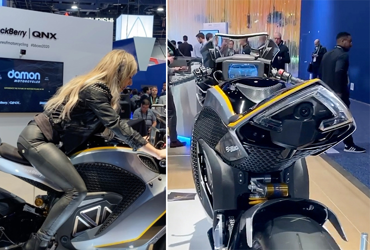 Damon Motorcycles | CES 2020 | Electric Motorcycles News