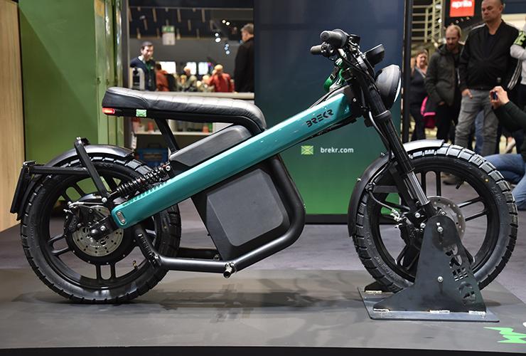 Brekr | MOTORbeurs Utrecht | Electric Motorcycles News
