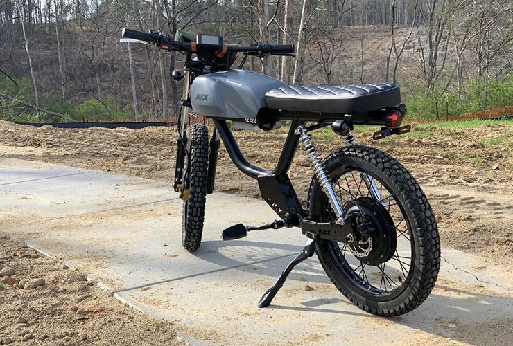 Huck Cycles - Electric Motorcycles News