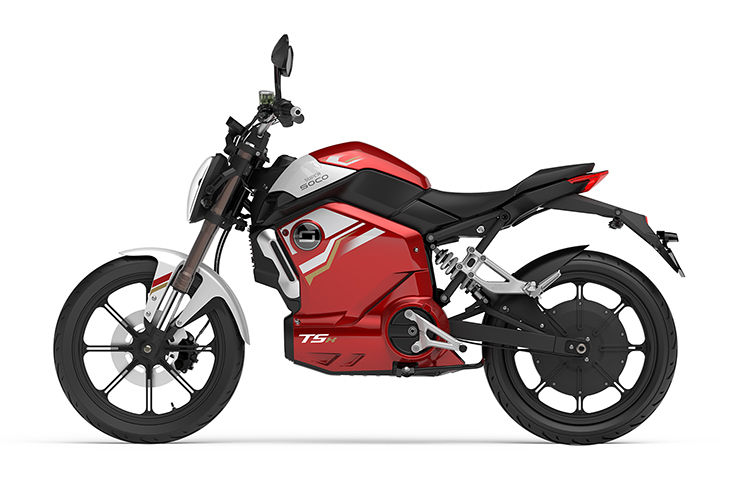 Super Soco UK - Super Soco TSx - Electric Motorcycles News