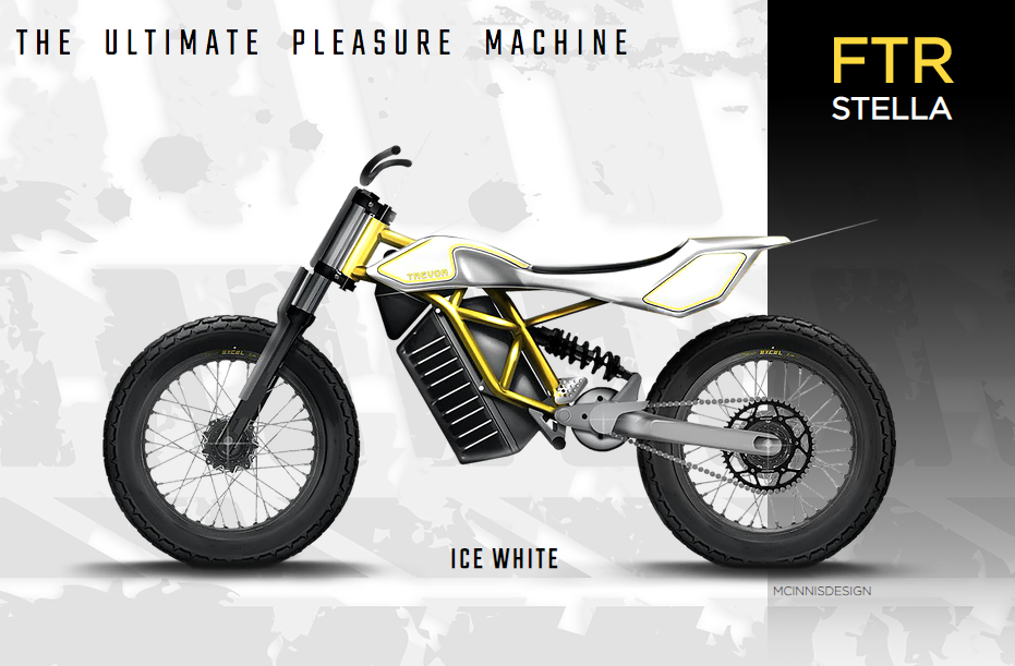 Flat tracker Stella | Electric Motorcycles News
