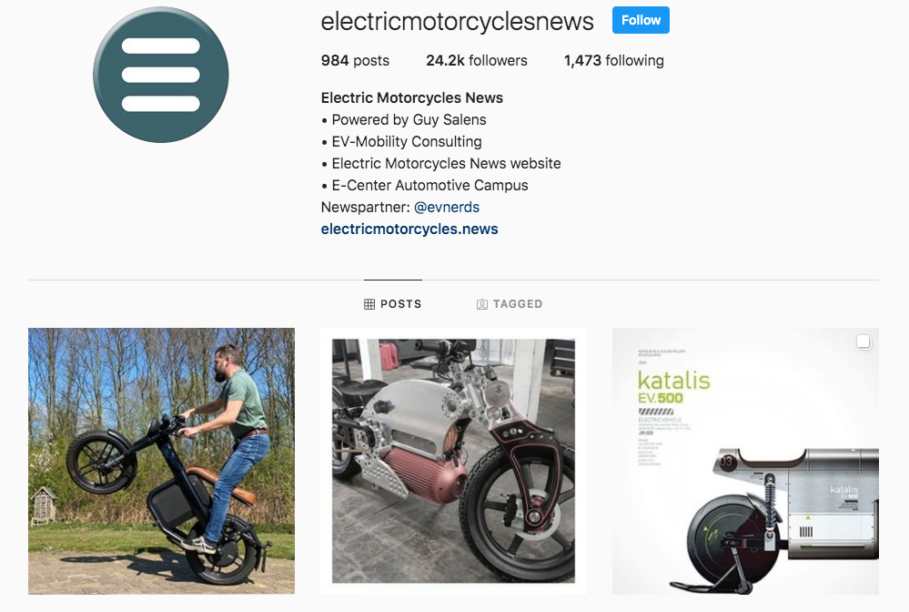 Instagram |Electric Motorcycles News