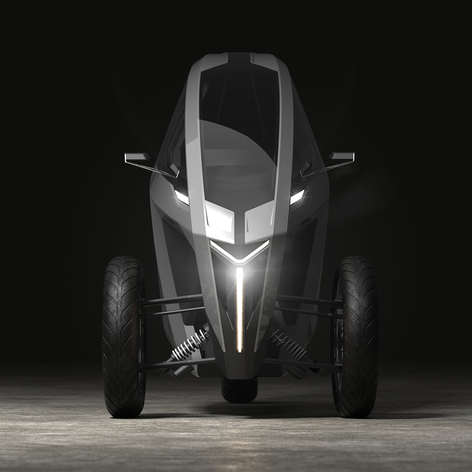 AKO Leaning trike - Electric Motorcycles News