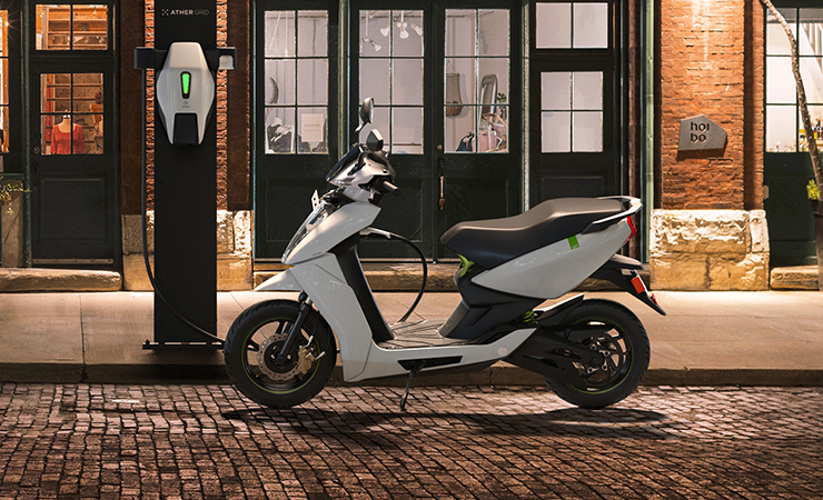 Ather 450X - Ather Energy - Electric Motorcycles News