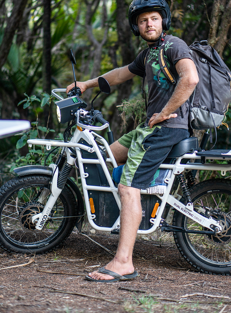 UBCO - Motubikes - Great Barrier Island - Electric Motorcycles News