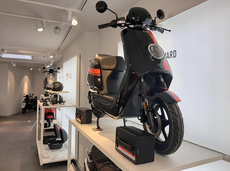 NIU Antwerpen - Flagshipstore Belgium - Electric Motorcycles News