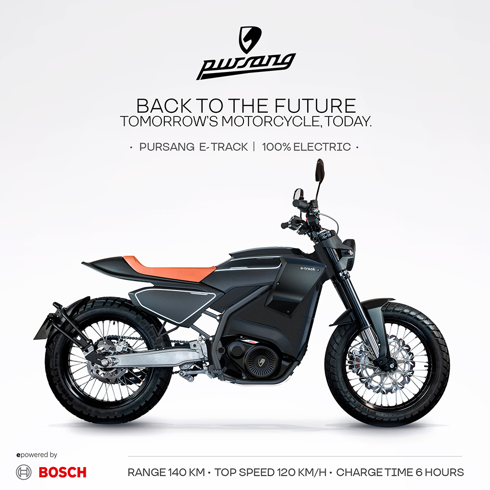 Pursang E-track pre order |Electric Motorcycles News