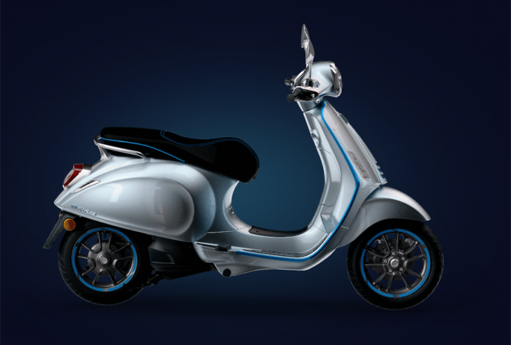 Vespa Elettrica | THE PACK | Electric Motorcycles News