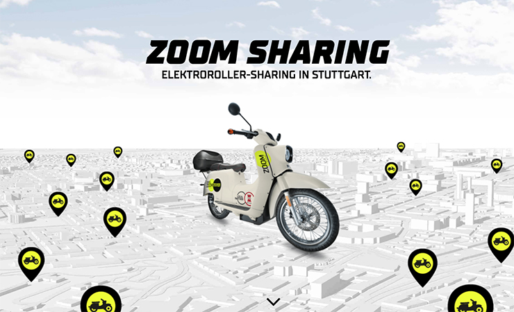 Govecs Zoom Sharing Stuttgart - Electric Motorcycles News