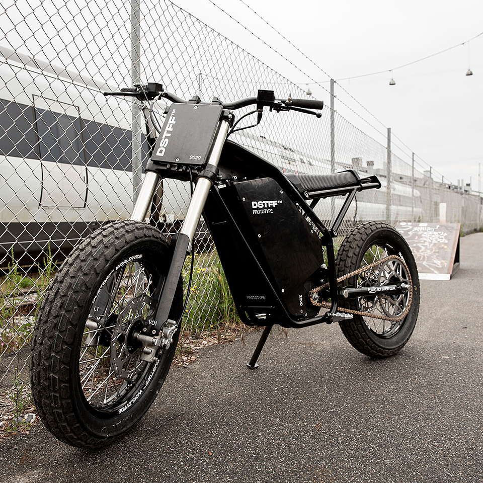 Dustoff - Michel Riis - Electric Motorcycles News | EMN - THE PACK