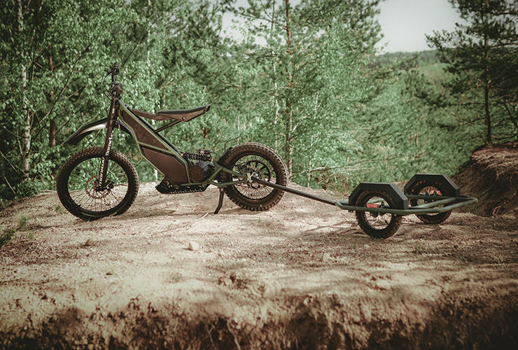 Kuberg Ranger | THE PACK | Electric Motorcycles News