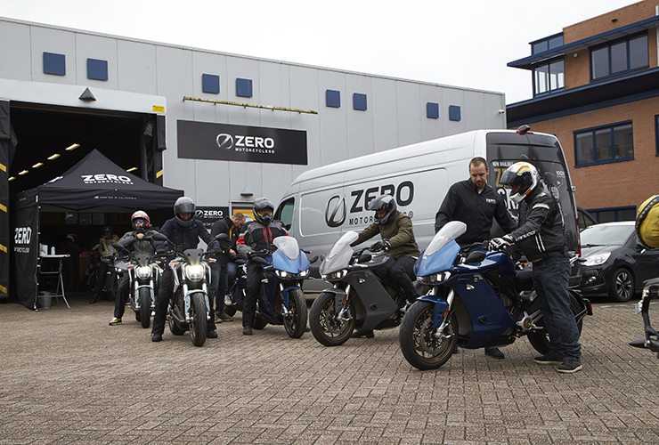 Zero Motorcycles Benelux | Relaunch event 2020 | THE PACK | Electric Motorcycles News