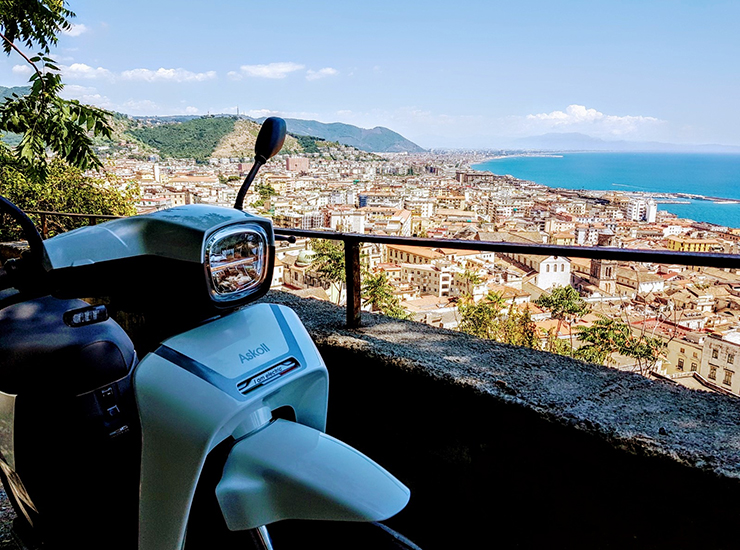 Askoll Italy Tour 2020 - THE PACK - Electric Motorcycles News
