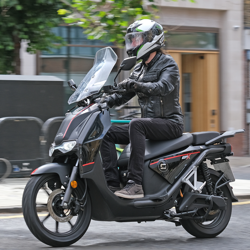 Super Soco CPx - THE PACK - Electric Motorcycles News